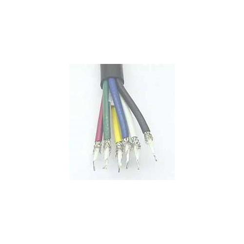 6 Cond 75 Ohm Mini Coax Cable