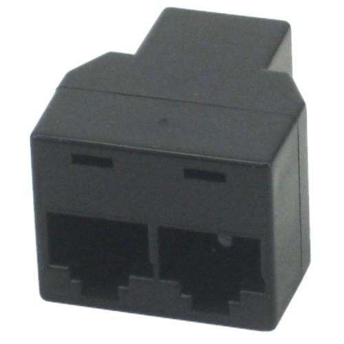 RJ4508  Y Adp (3 Female) BLACK